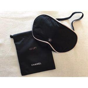 c0e6275948dc CHANEL Travel Blindfold Sleeping Eye Mask